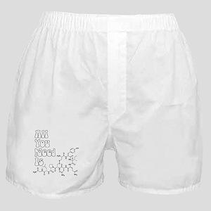 All You Need Is [Oxytocin] Boxer Shorts